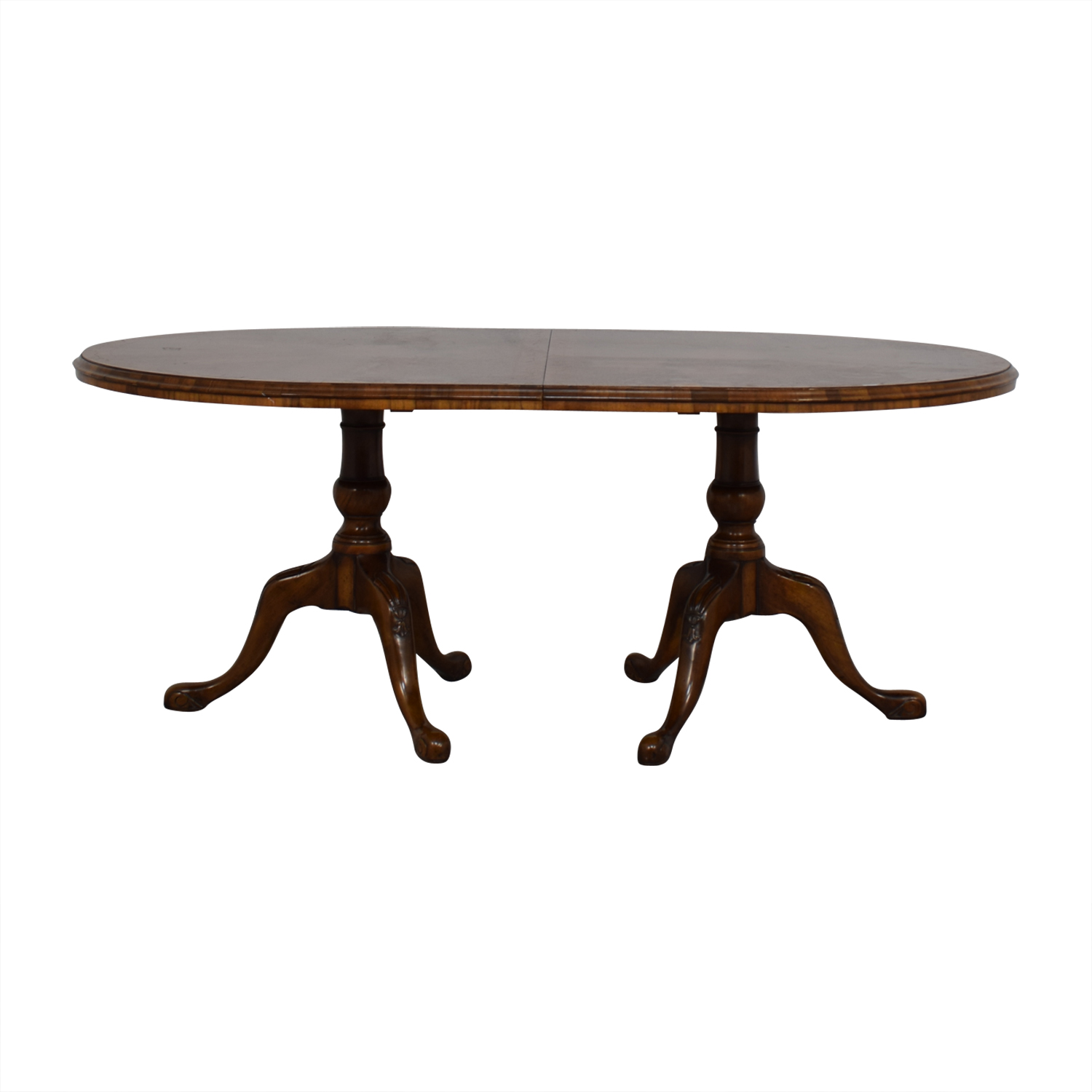 Wood & Hogan Wood and Hogan Expandable Dining Room Table dimensions