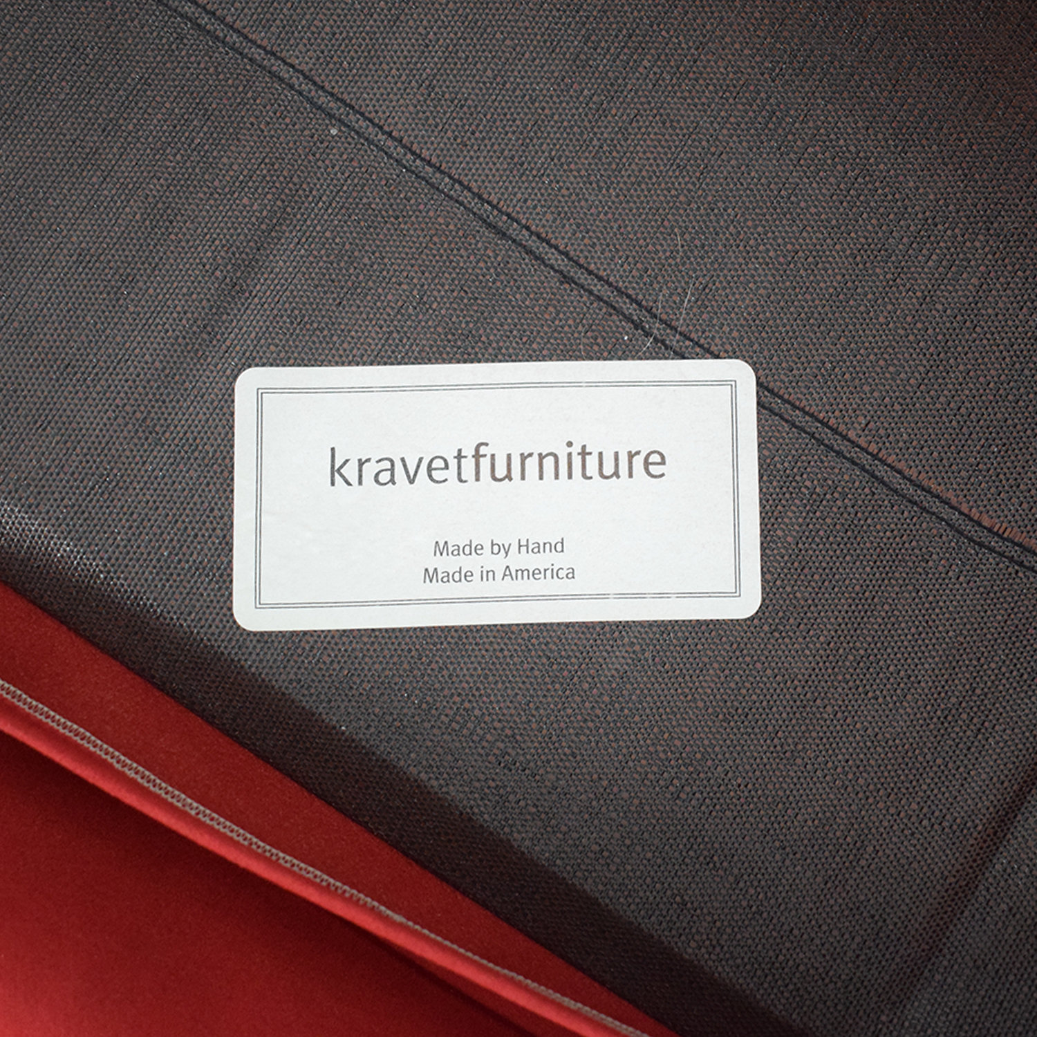 Kravet Kravet Red Sleeper Sofa Sofa Beds