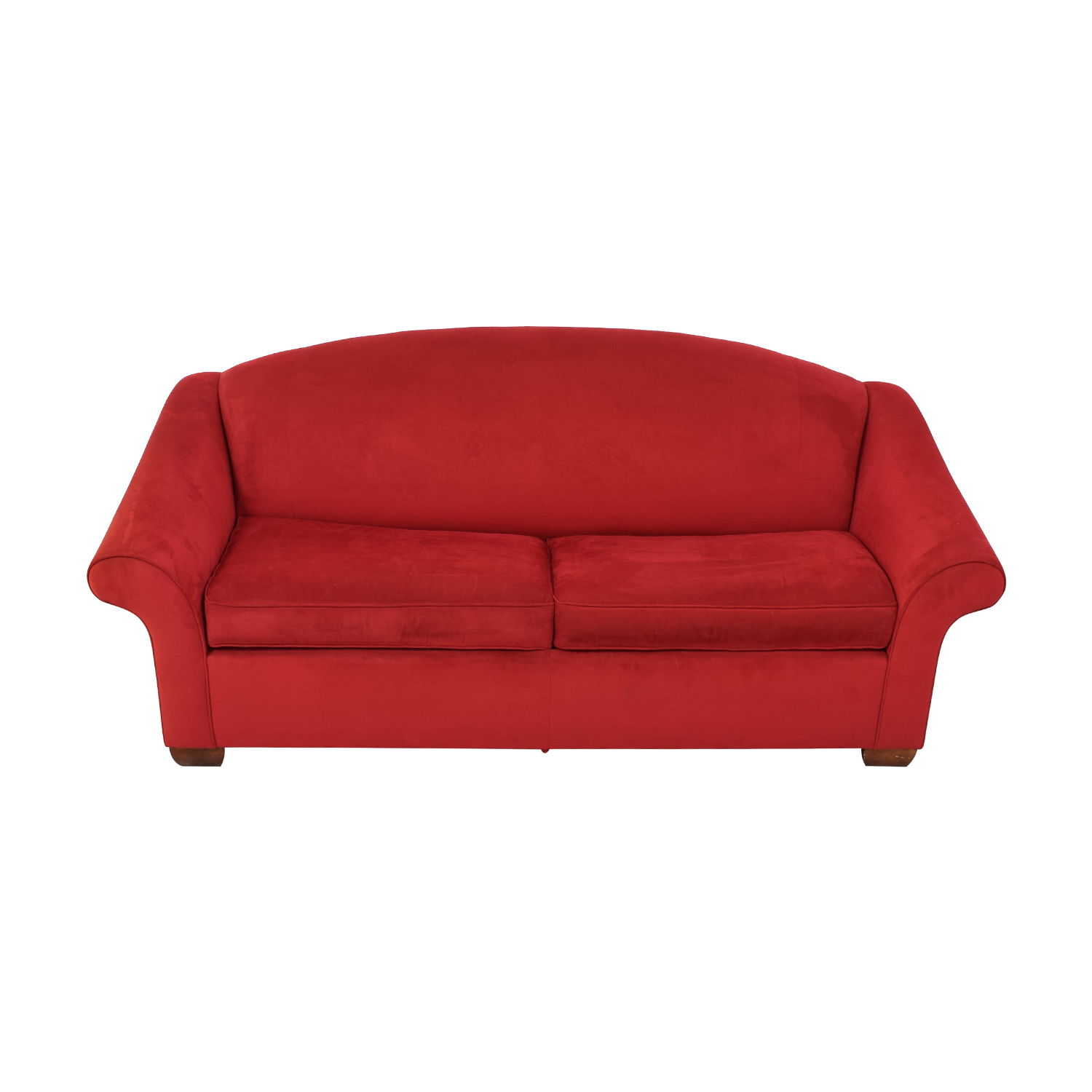 75% OFF - Kravet Kravet Red Sleeper Sofa / Sofas