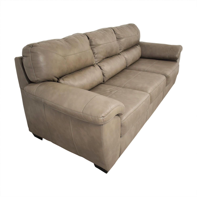 Jennifer Furniture Jennifer Furniture Vegan Leather Couch nyc