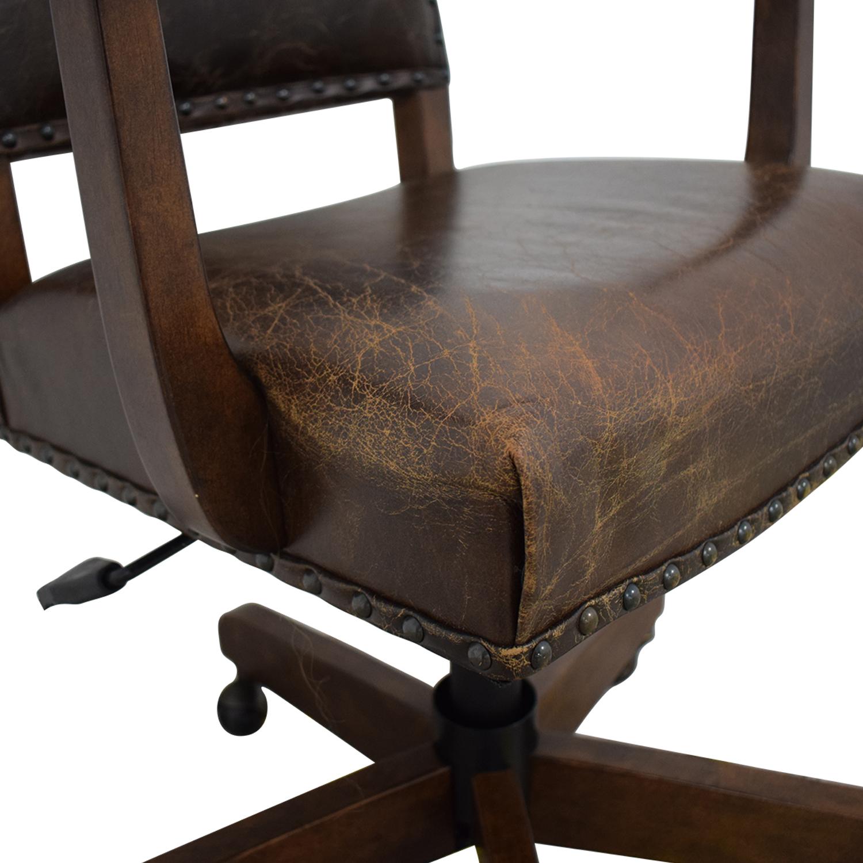 buy Pottery Barn Pottery Barn Manchester Swivel Desk Chair online