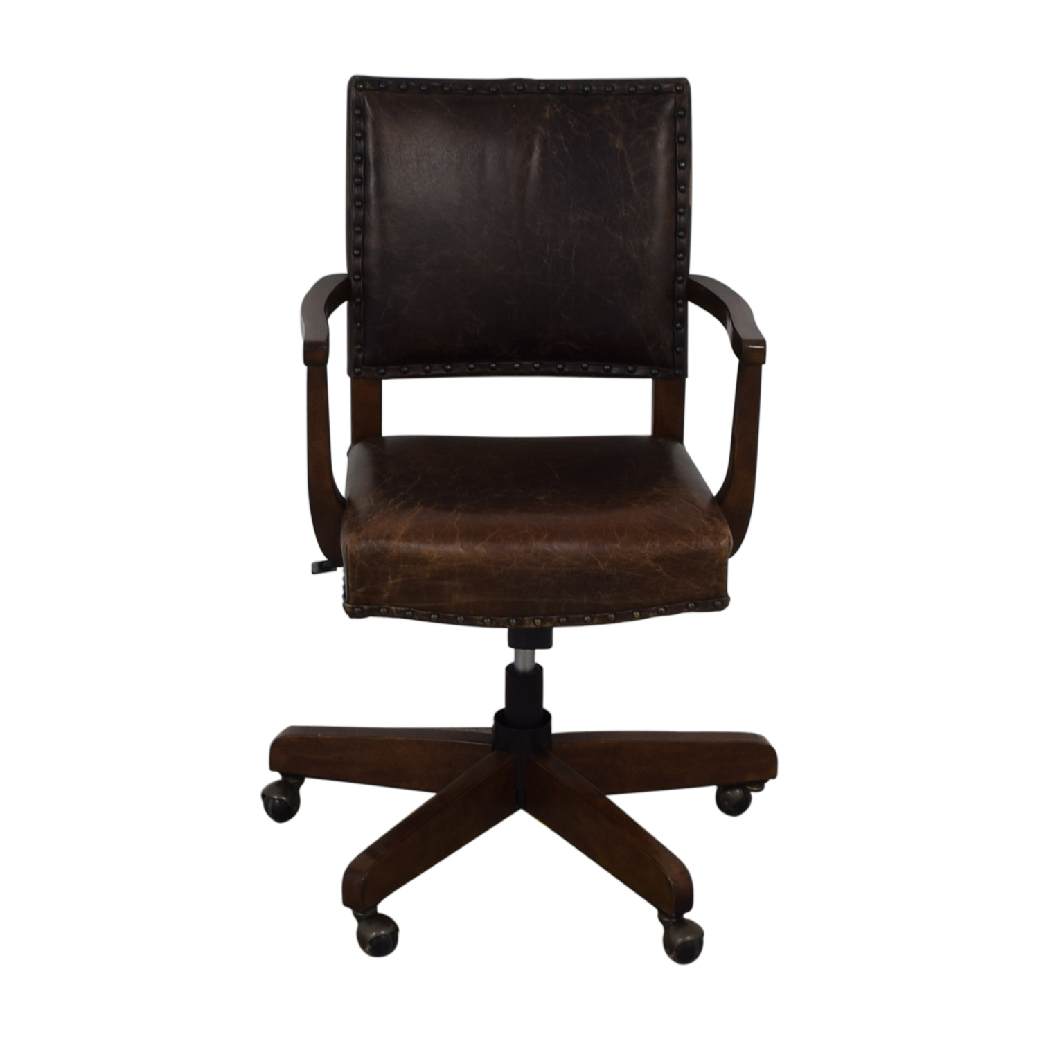 shop Pottery Barn Manchester Swivel Desk Chair Pottery Barn Chairs