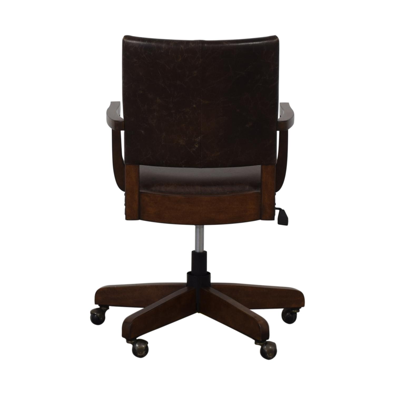 shop Pottery Barn Pottery Barn Manchester Swivel Desk Chair online