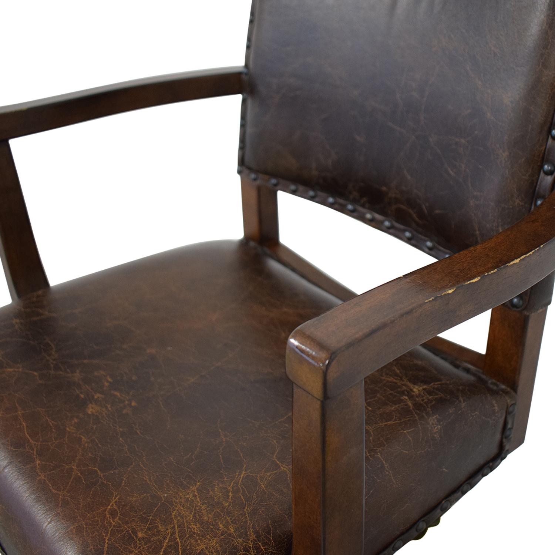 buy Pottery Barn Manchester Swivel Desk Chair Pottery Barn