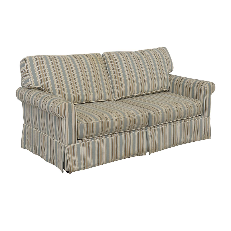 Alan White Alan White Striped Sofa for sale