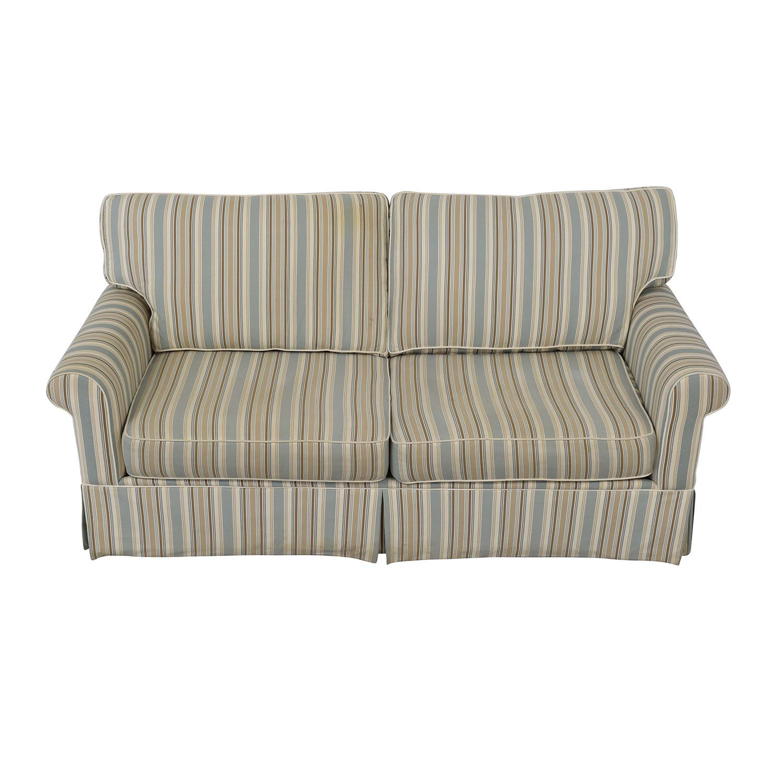 Alan White Alan White Striped Sofa Sofas