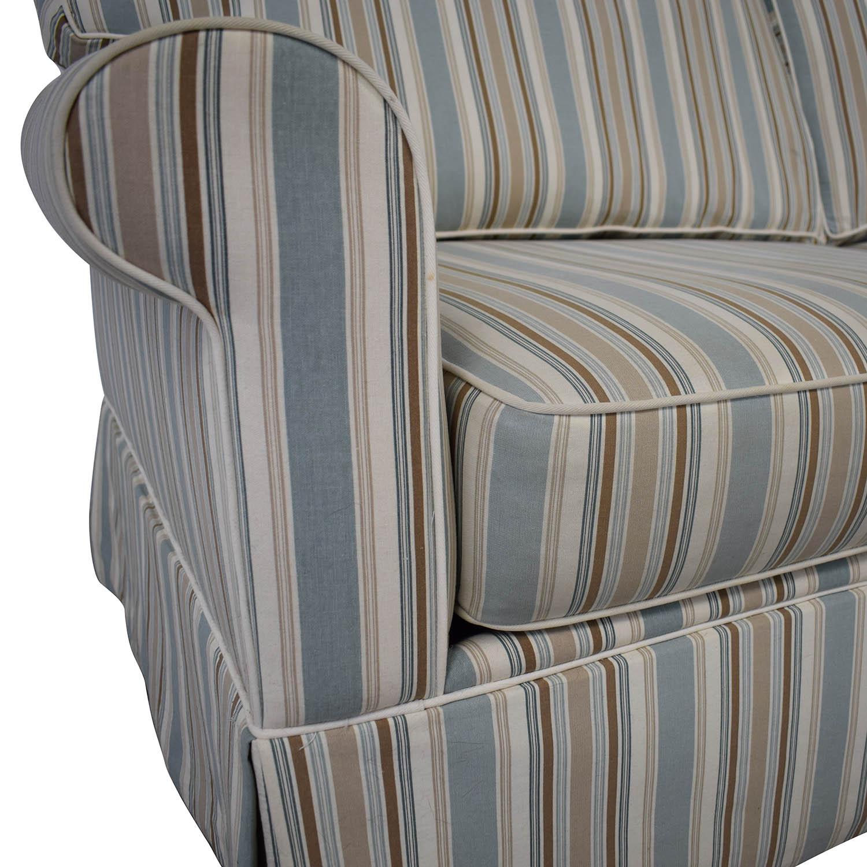 Alan White Alan White Striped Sofa nj