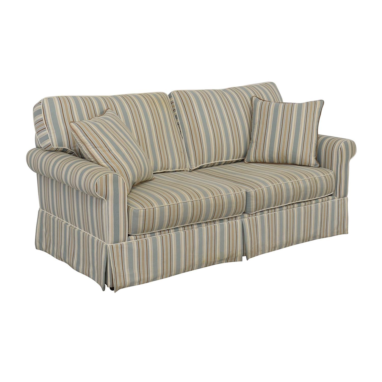 Alan White Alan White Striped Sofa on sale