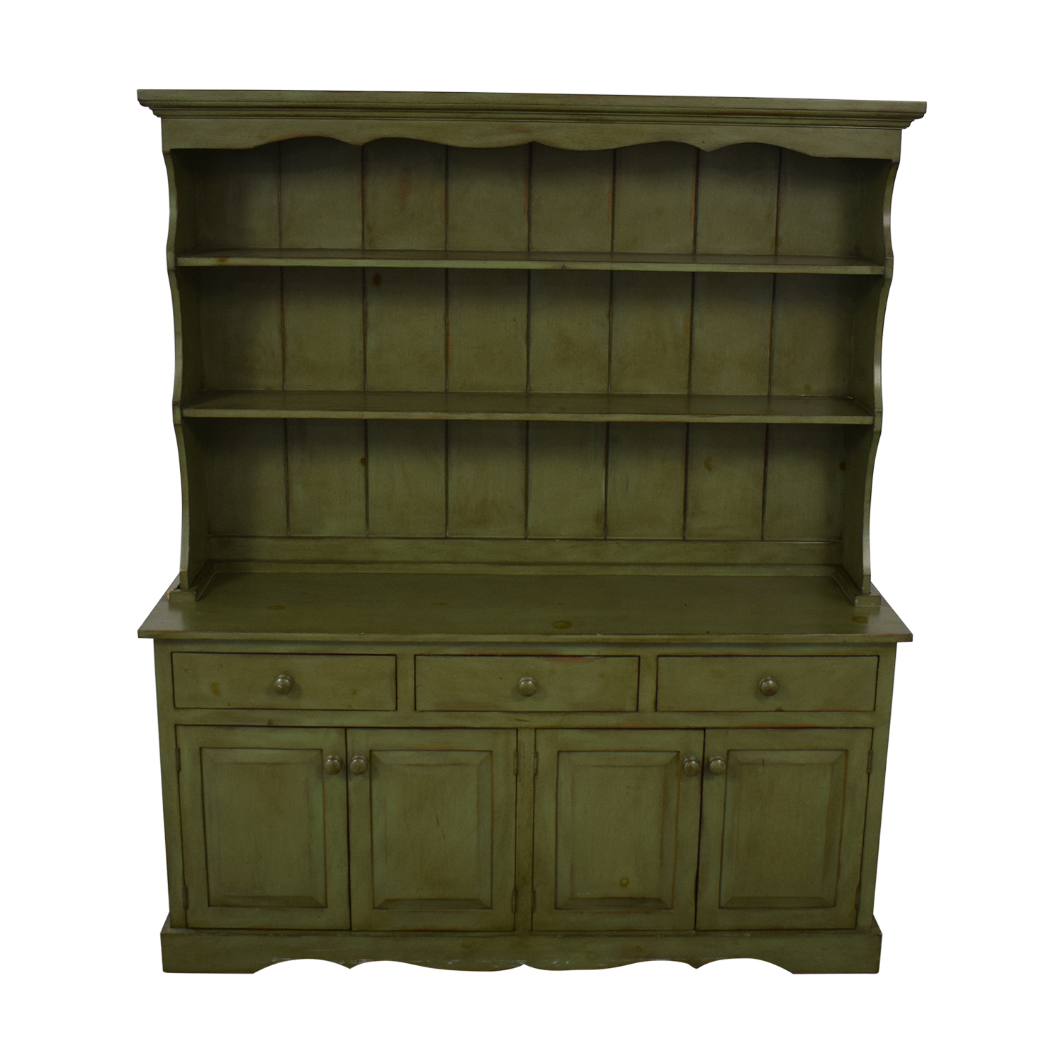 Ethan Allen Ethan Allen Cabinet and Hutch second hand