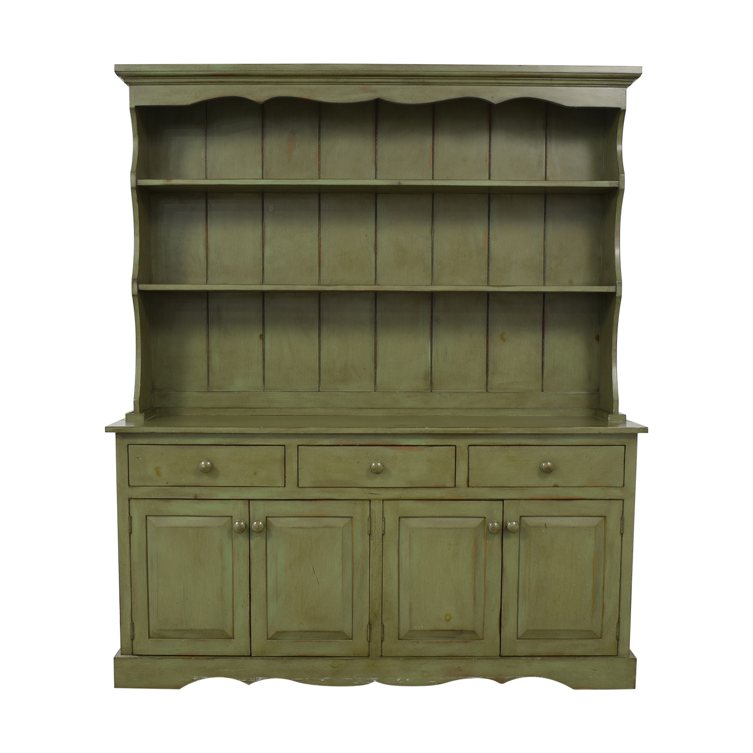 Ethan Allen Ethan Allen Cabinet and Hutch used
