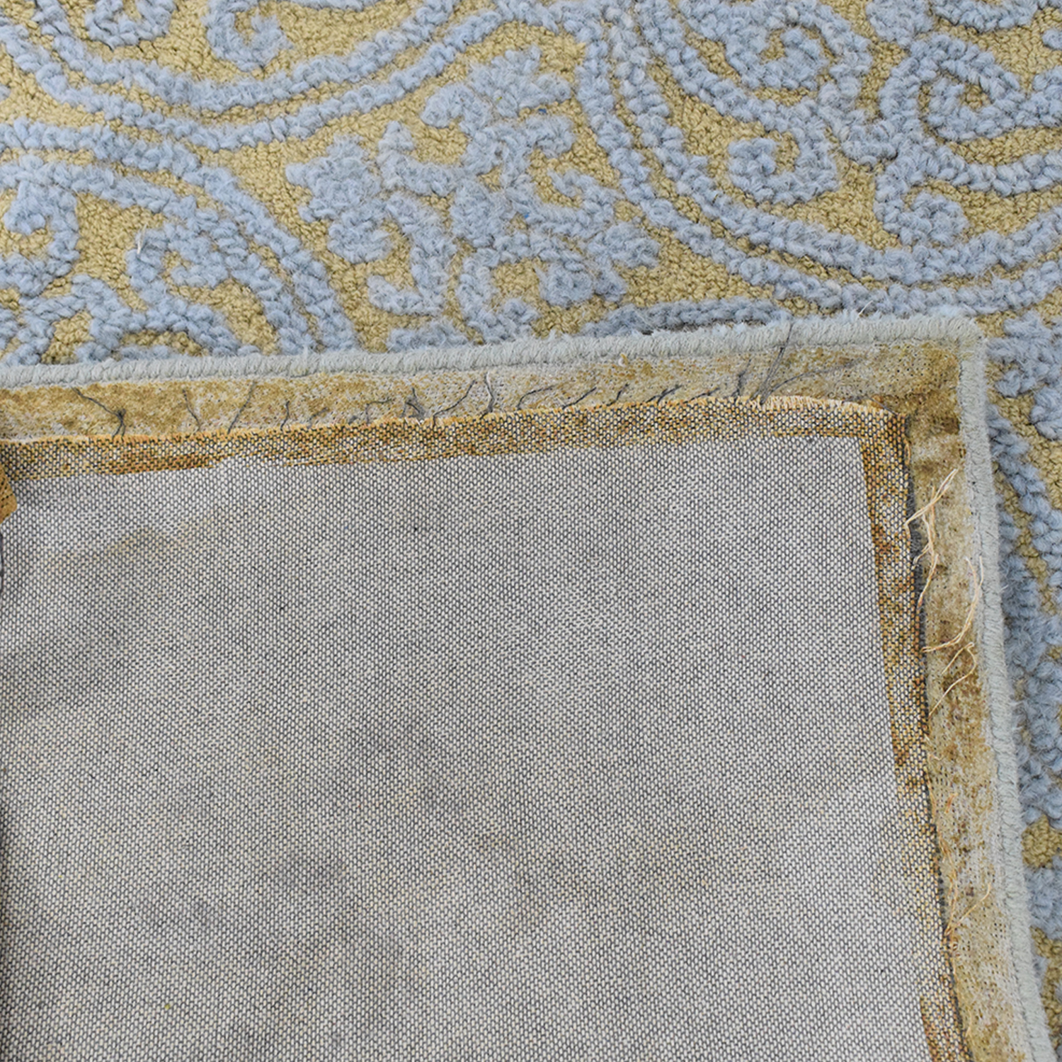 Safavieh Blue and Gold Rug sale