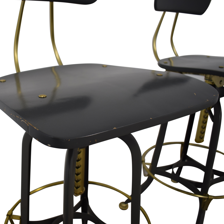 Restoration Hardware Restoration Hardware 1940s Vintage Toledo Bar Chairs used