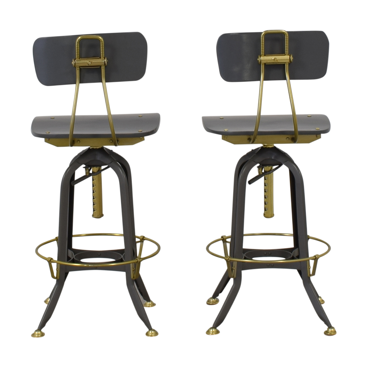 shop Restoration Hardware 1940s Vintage Toledo Bar Chairs Restoration Hardware