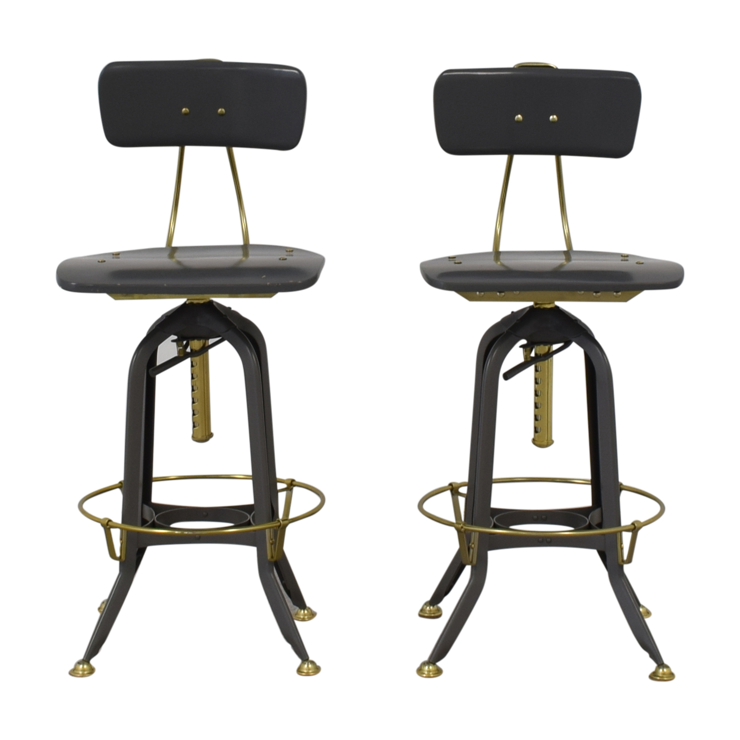 buy Restoration Hardware 1940s Vintage Toledo Bar Chairs Restoration Hardware