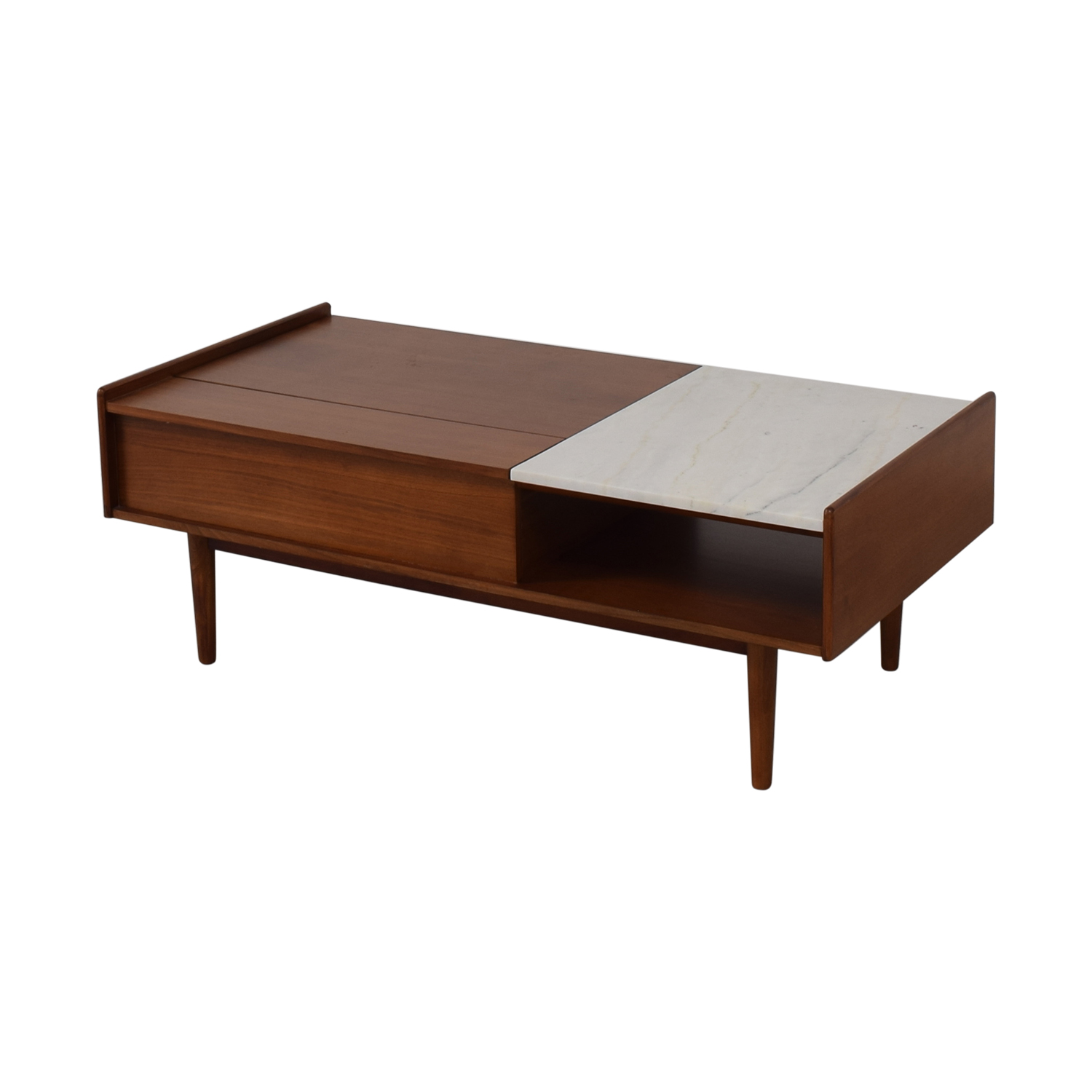West Elm West Elm Mid Century Pop-Up Coffee Table used