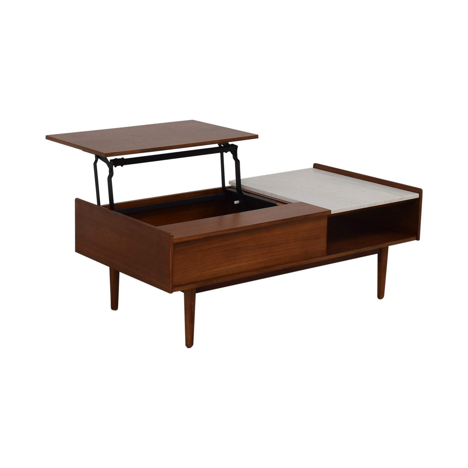 West Elm West Elm Mid Century Pop-Up Coffee Table second hand