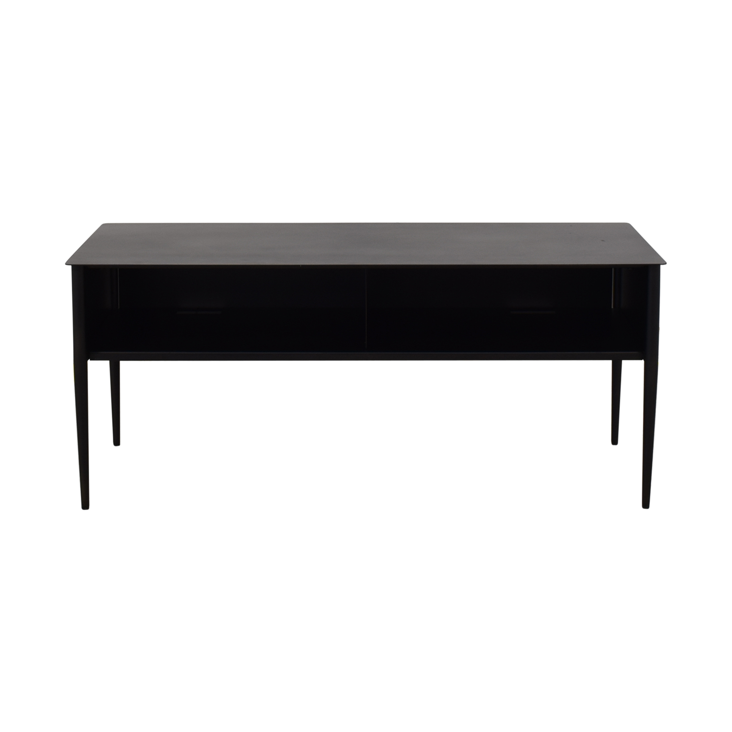 buy West Elm Metalwork Hot Rolled Steel Media Console West Elm Media Units
