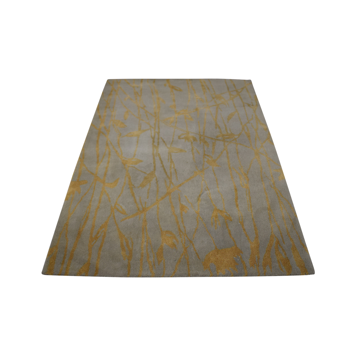 shop West Elm Botanical Twigs Rug West Elm