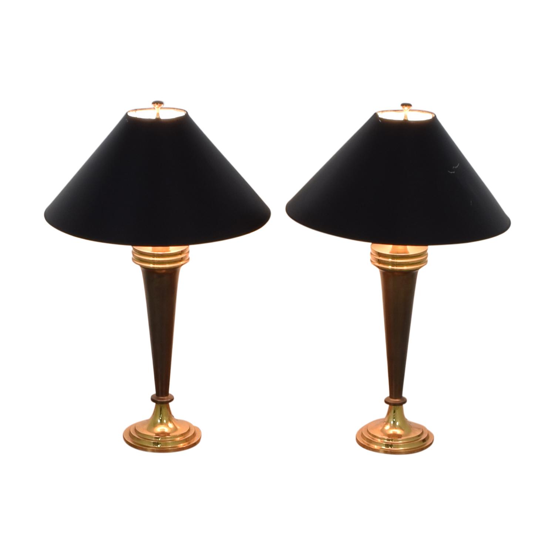 Wildwood Wildwood Table Lamps black & gold