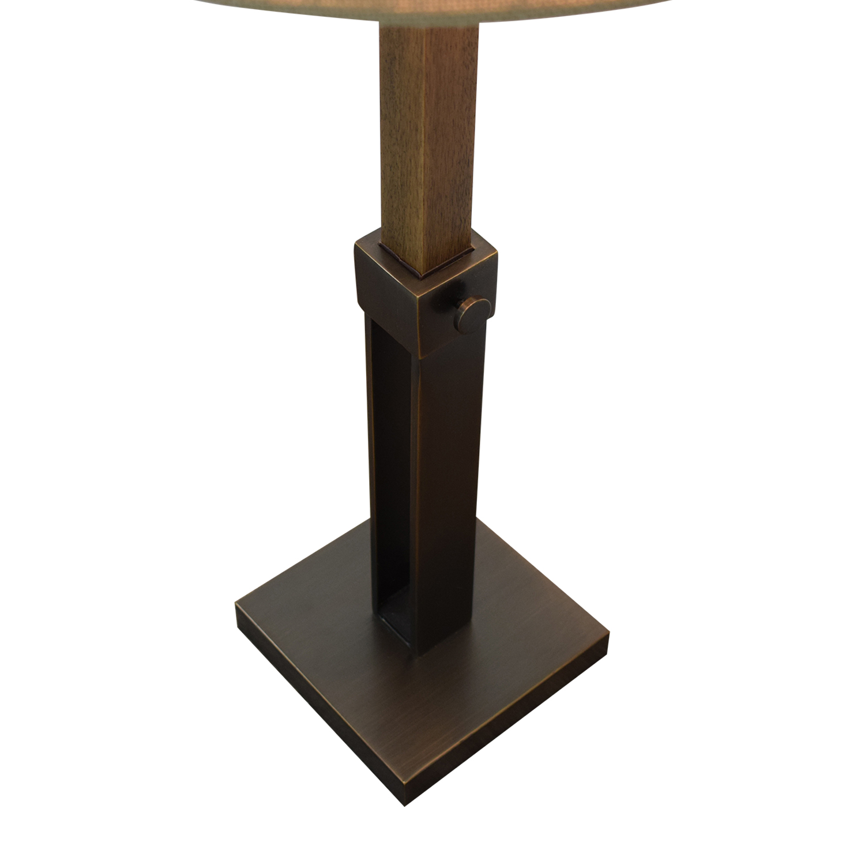 shop Crate & Barrel Crate & Barrel Denley Bronze Table Lamp online