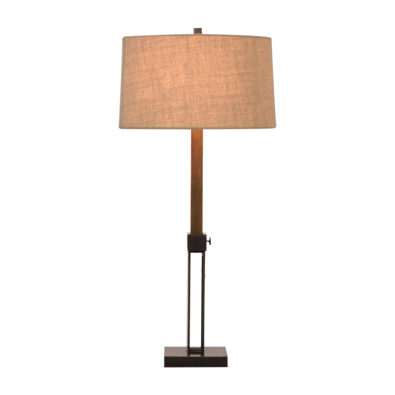 Crate & Barrel Crate & Barrel Denley Bronze Table Lamp coupon