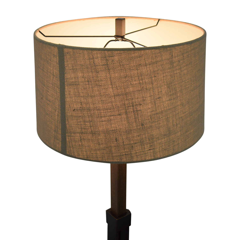 Crate & Barrel Denley Bronze Table Lamp / Decor