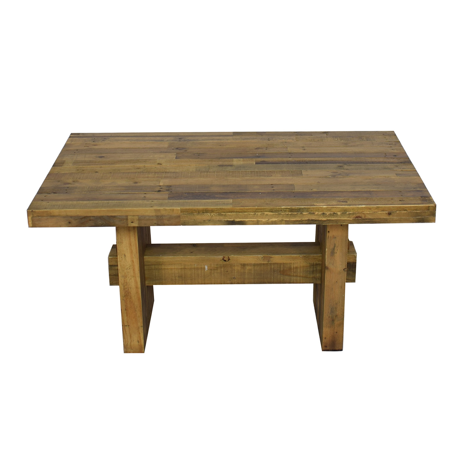 58 Off West Elm West Elm Emerson Rustic Dining Table