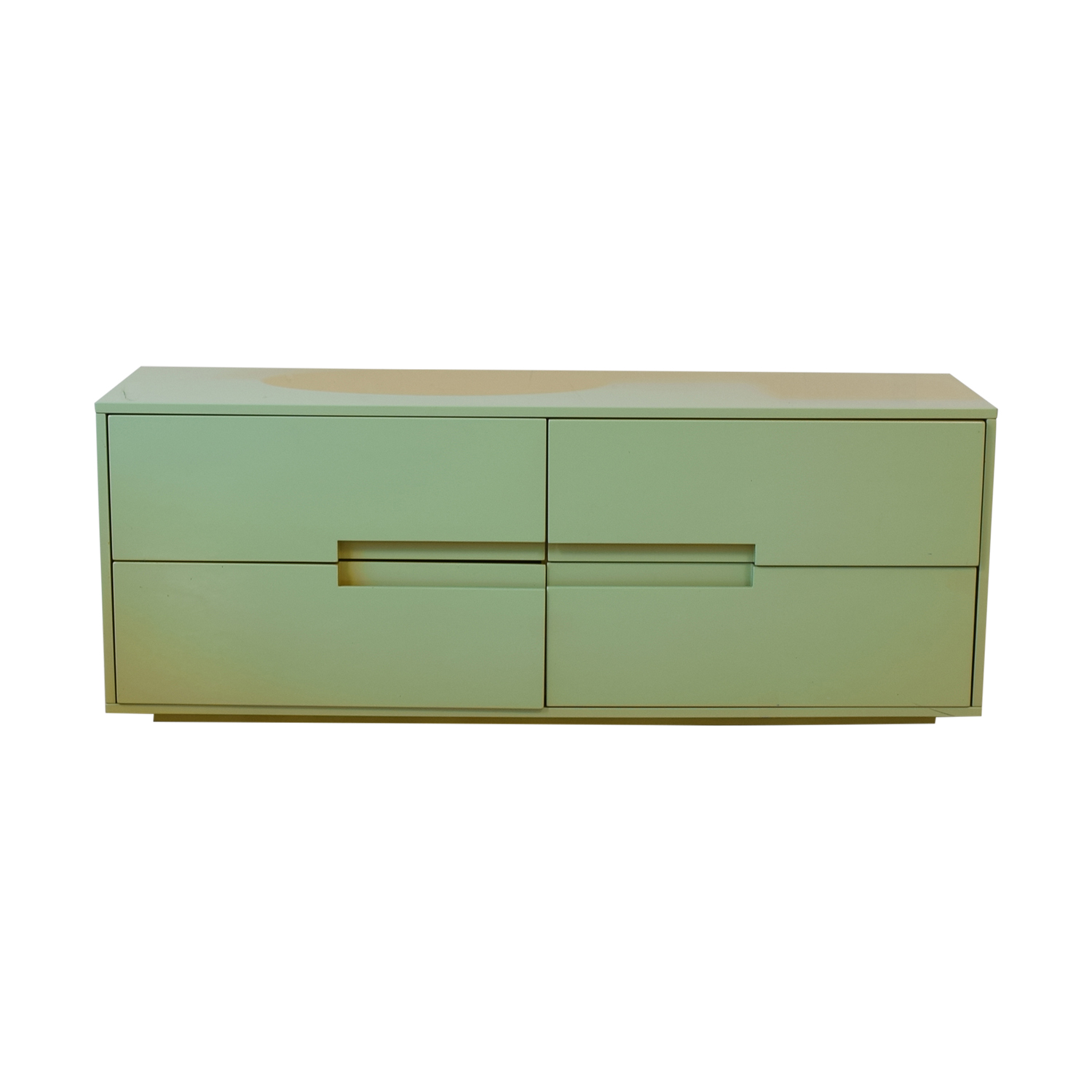 CB2 Cb2 Latitude Green Low Dresser