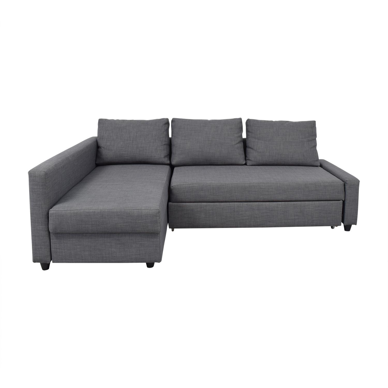 - 41% OFF - IKEA IKEA Friheten Sleeper Sofa / Sofas