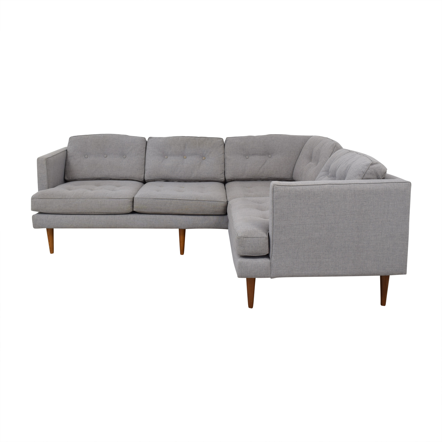 buy West Elm Peggy Sectional Sofa West Elm Sofas