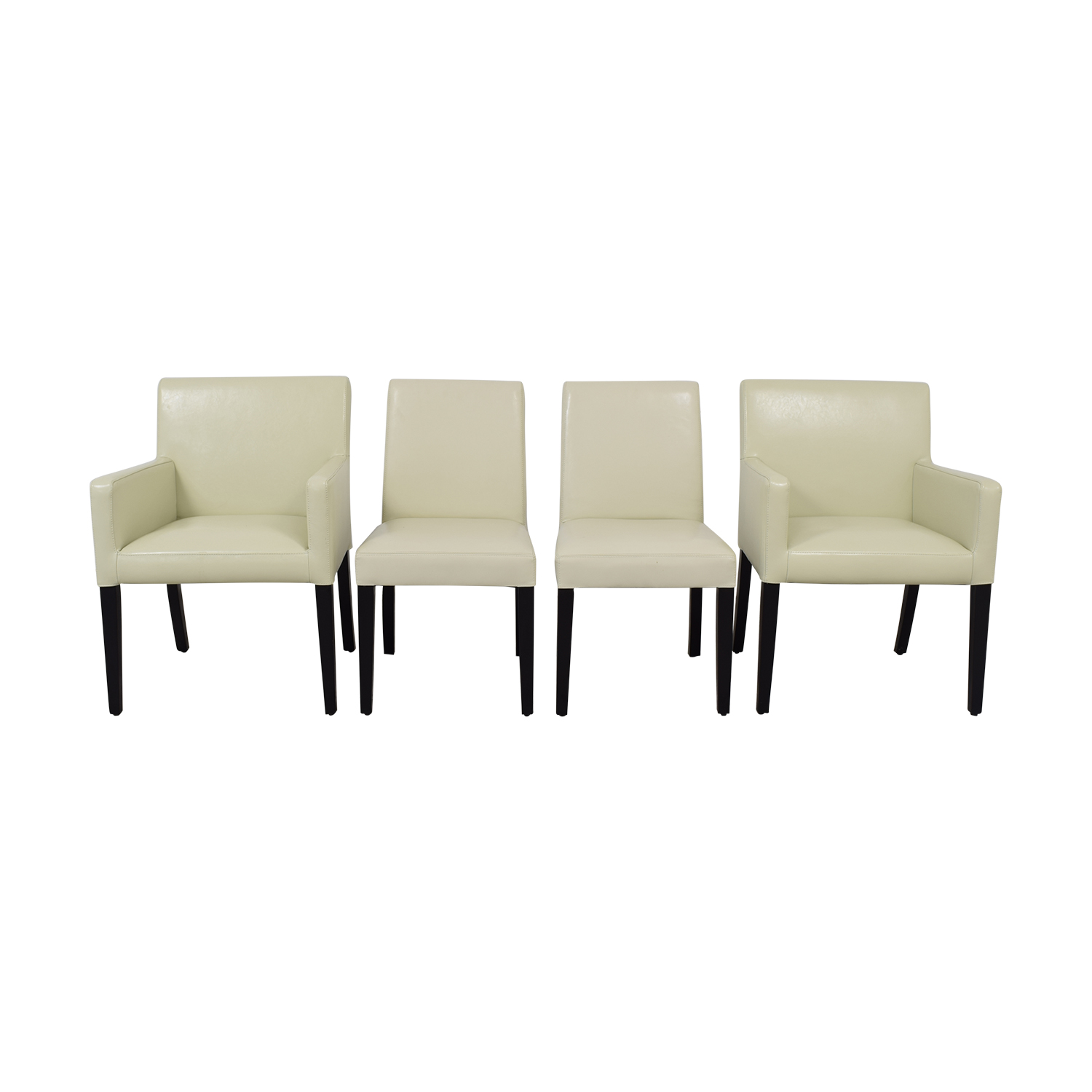 Crate & Barrel Pullman Dining Chairs Crate & Barrel