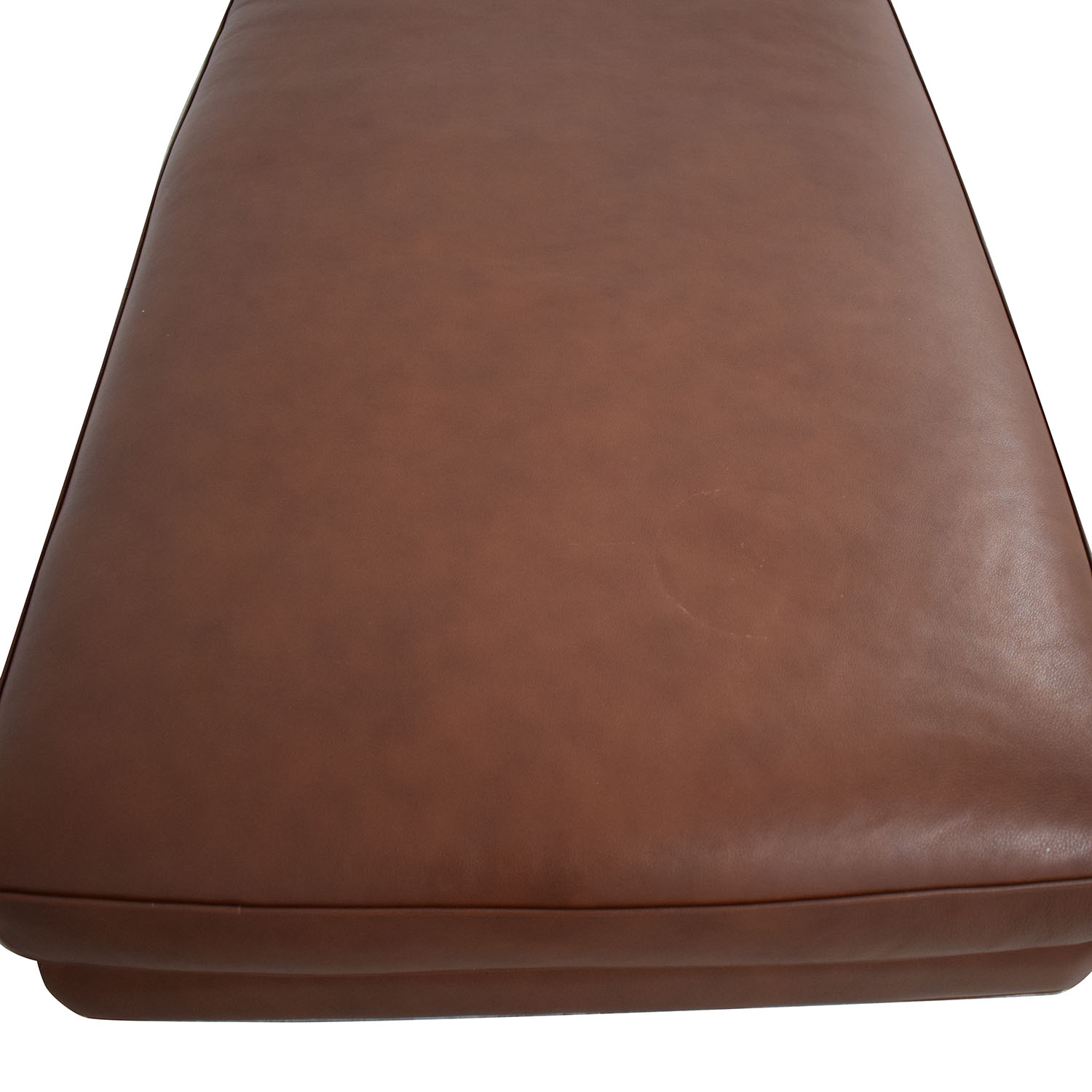 buy Design Within Reach Design Within Reach Theatre Ottoman Leather Ottoman online