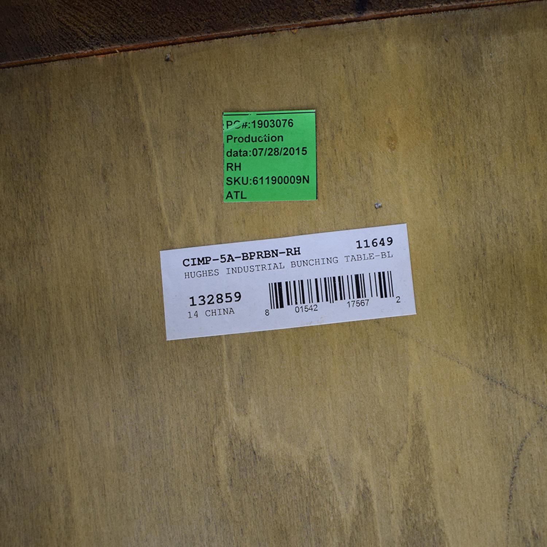 shop Restoration Hardware Reclaimed Russian Industrial Coffee Table Restoration Hardware