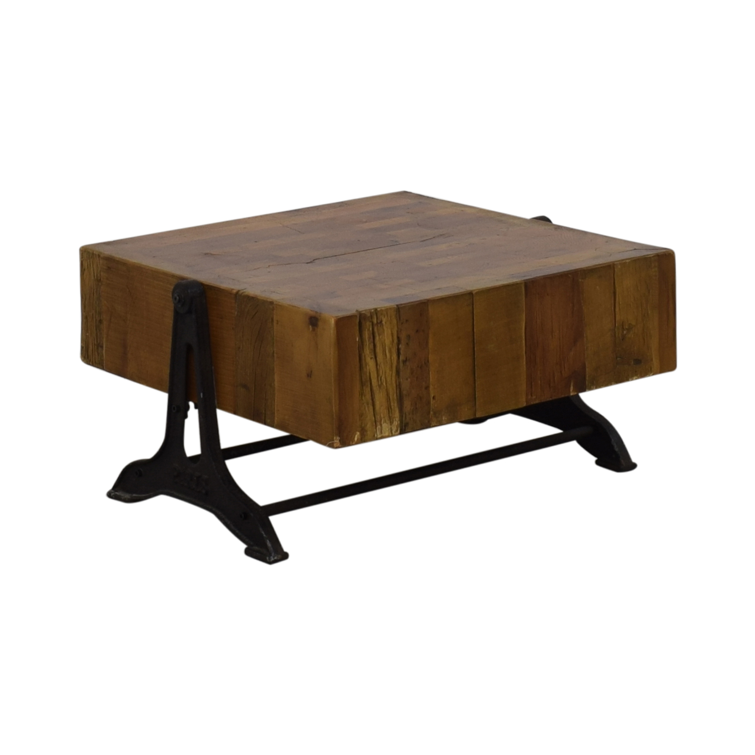 Restoration Hardware Restoration Hardware Reclaimed Russian Industrial Coffee Table used