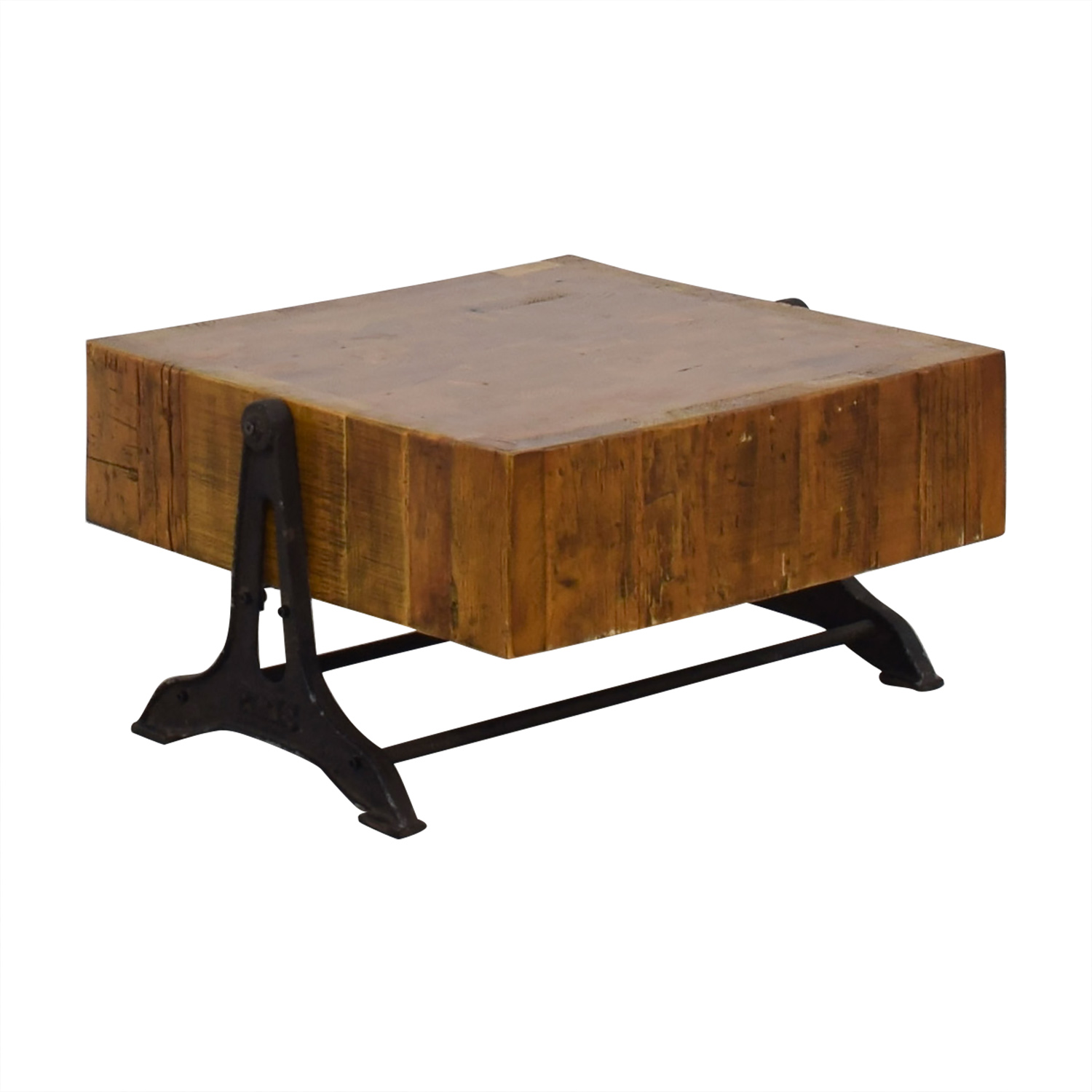 buy Restoration Hardware Restoration Hardware Reclaimed Russian Industrial Coffee Table online