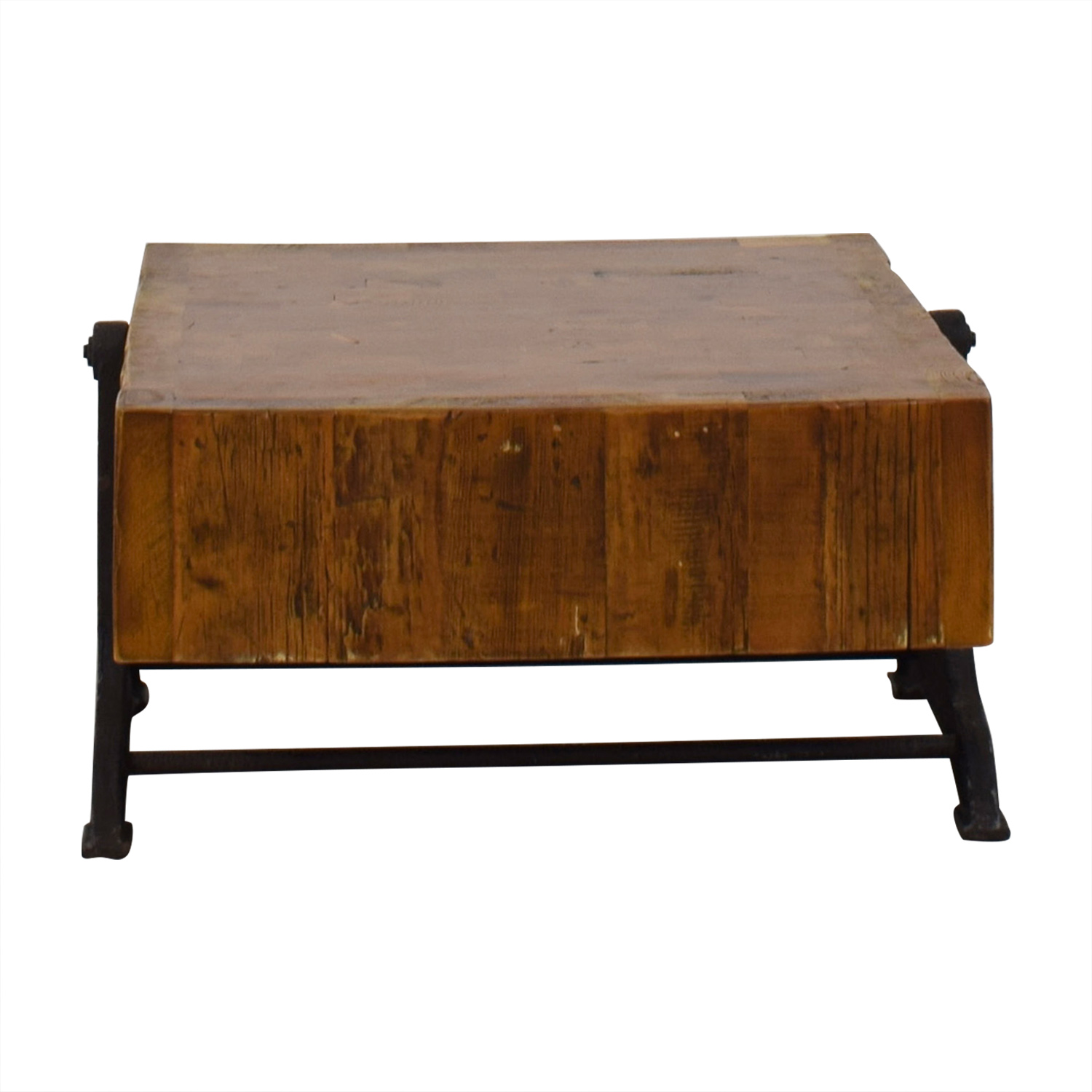 Restoration Hardware Reclaimed Russian Industrial Coffee Table Restoration Hardware