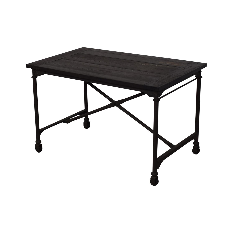 shop Restoration Hardware Flatiron Desk Restoration Hardware Tables