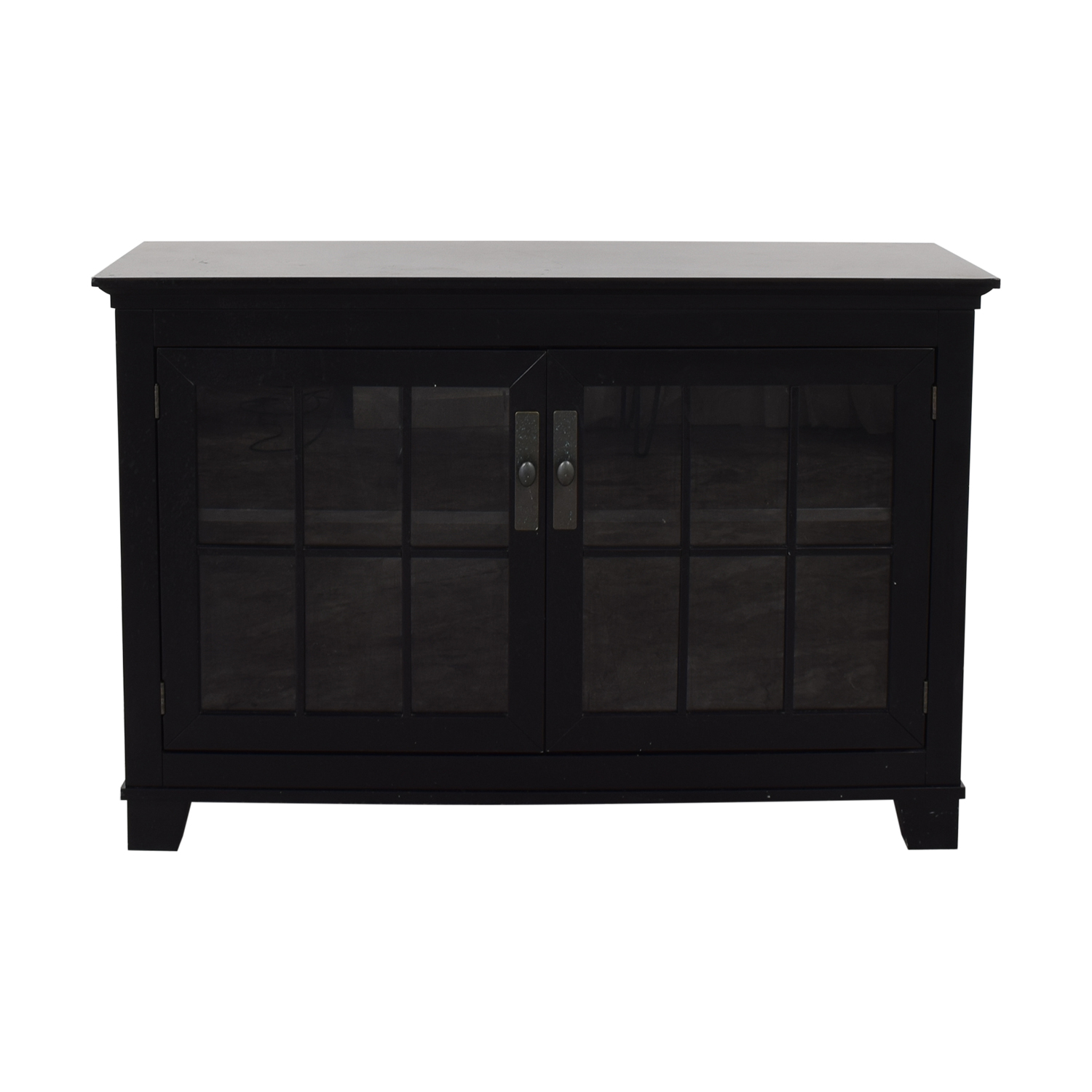 shop Crate & Barrel Buffet Cabinet Crate & Barrel Storage