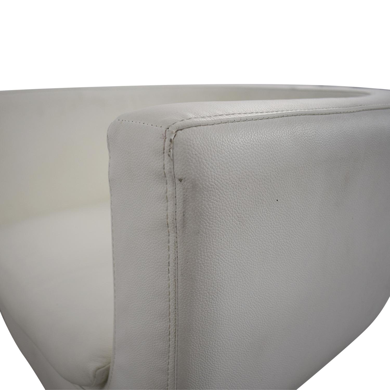 buy Pottery Barn Pottery Barn Mid Century Swivel Chair online