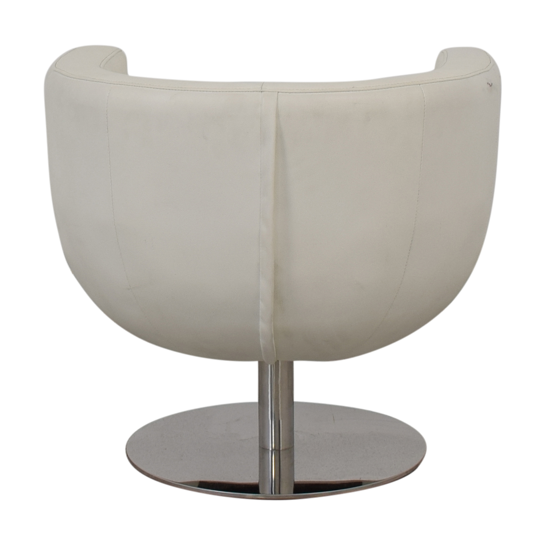 Pottery Barn Mid Century Swivel Chair / Chairs