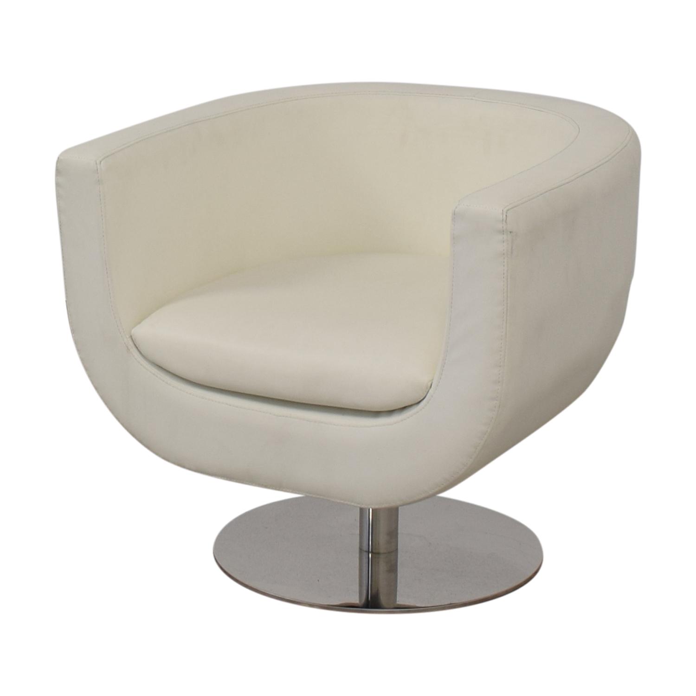 Pottery Barn Pottery Barn Mid Century Swivel Chair Chairs