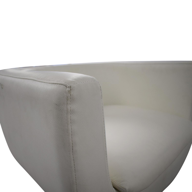 Pottery Barn Pottery Barn Mid Century Swivel Chair nj