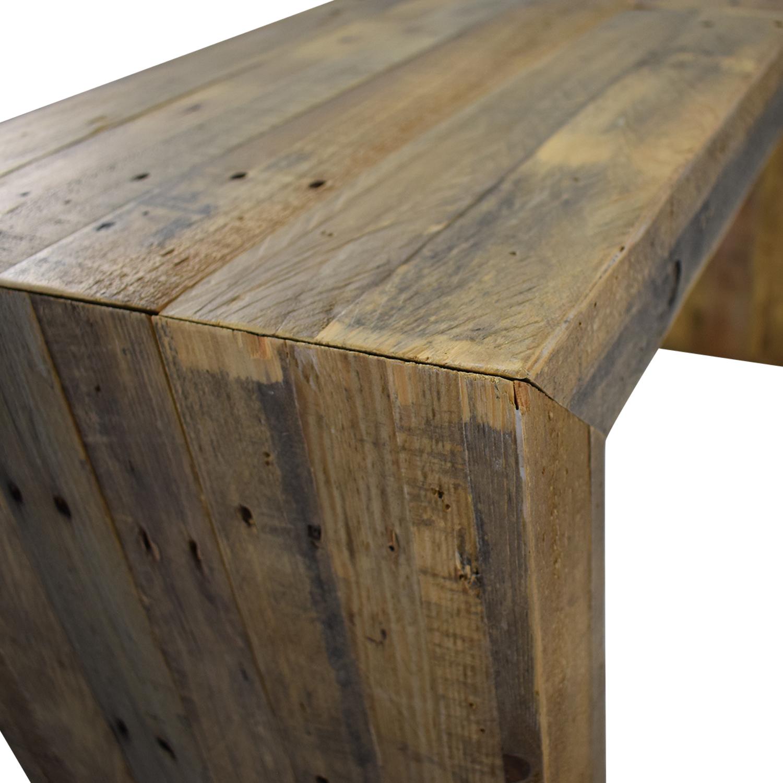 shop West Elm Emmerson Reclaimed Wood Console West Elm Accent Tables