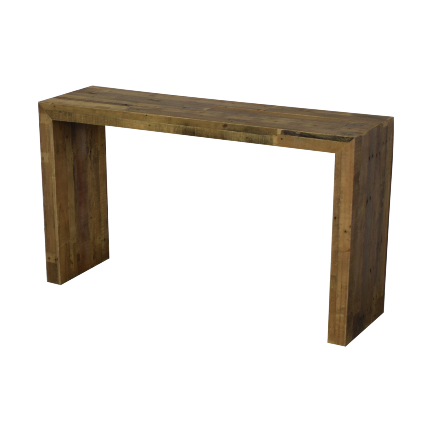 West Elm Emmerson Reclaimed Wood Console / Accent Tables