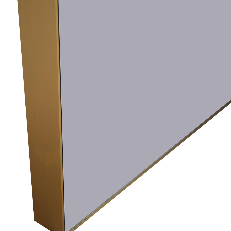 buy CB2 Infinity Floor Mirror CB2 Mirrors