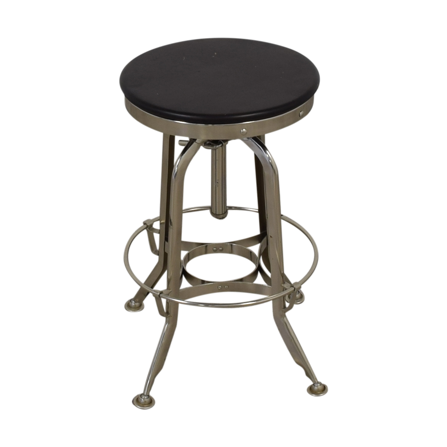 Restoration Hardware Restoration Hardware 1940s Vintage Toledo Bar Stool for sale
