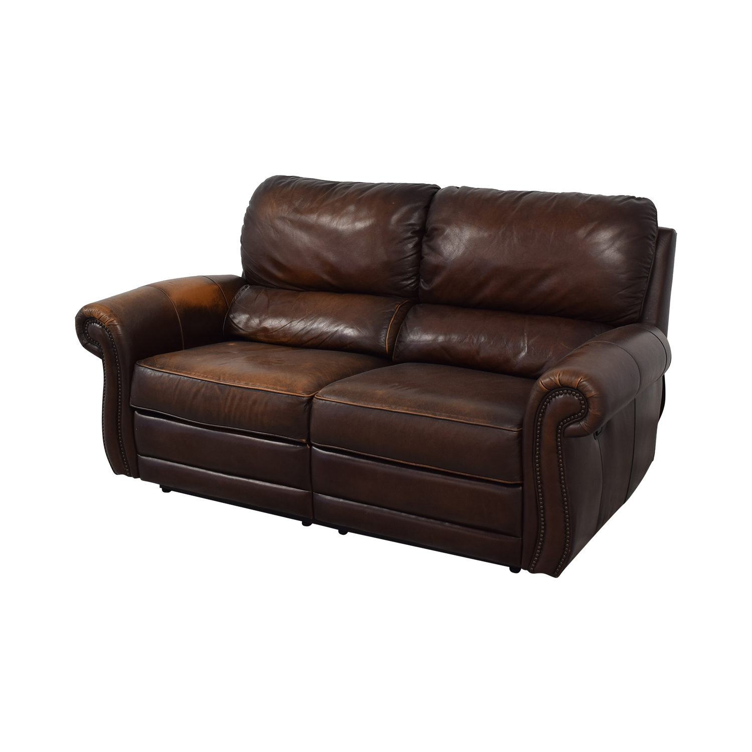 Raymour & Flanigan Raymour & Flanigan Leather Loveseat Recliner nyc