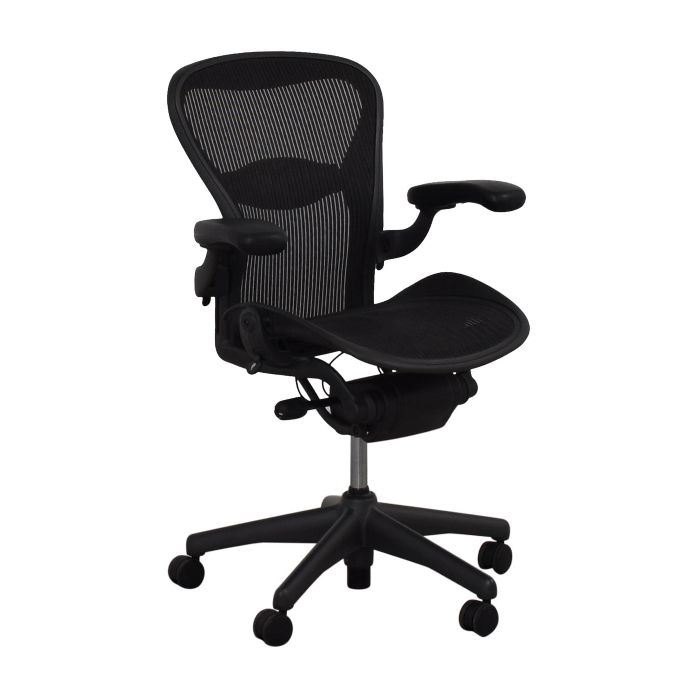 shop Herman Miller Aeron Chair Size B Herman Miller Chairs