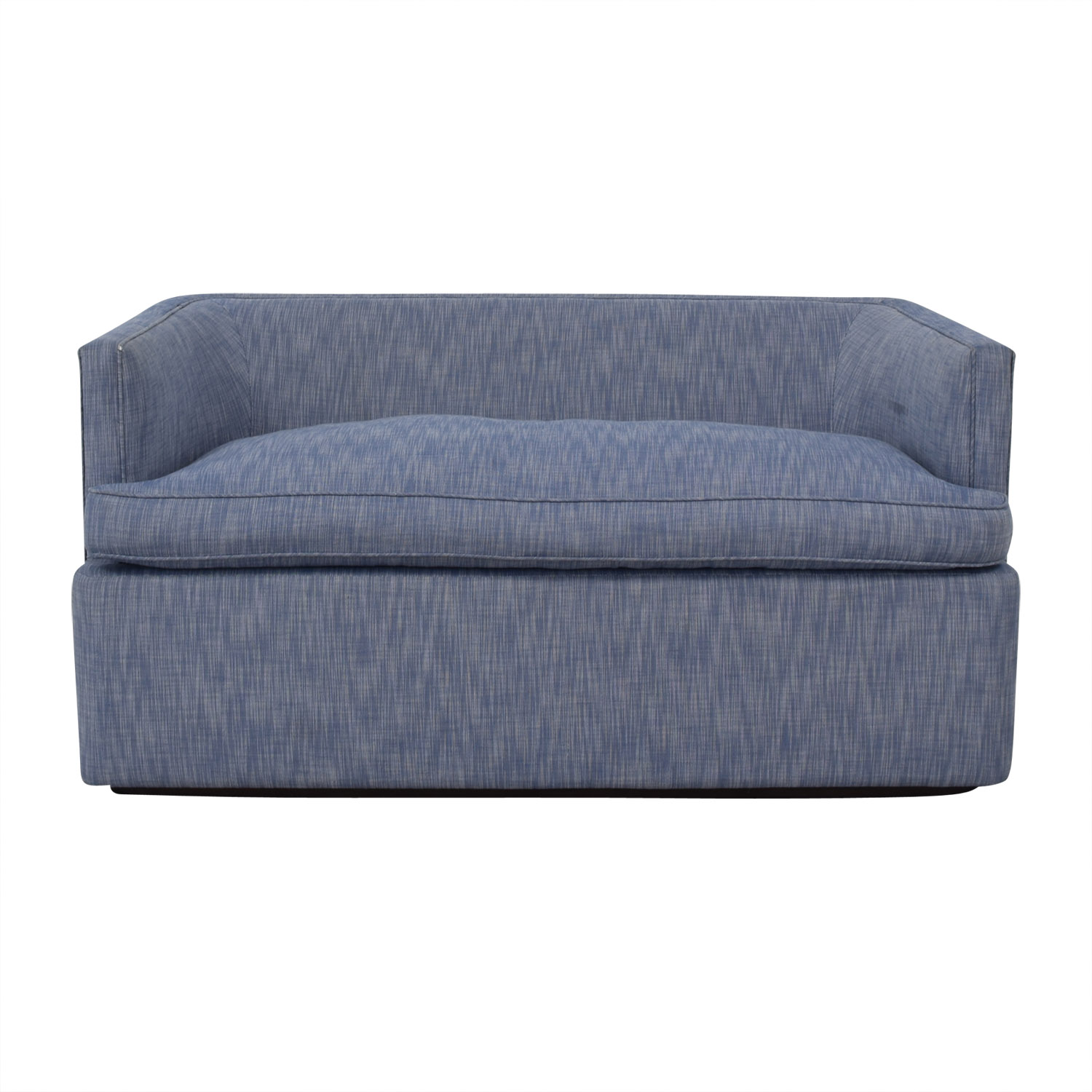buy  Custom Blue Loveseat online