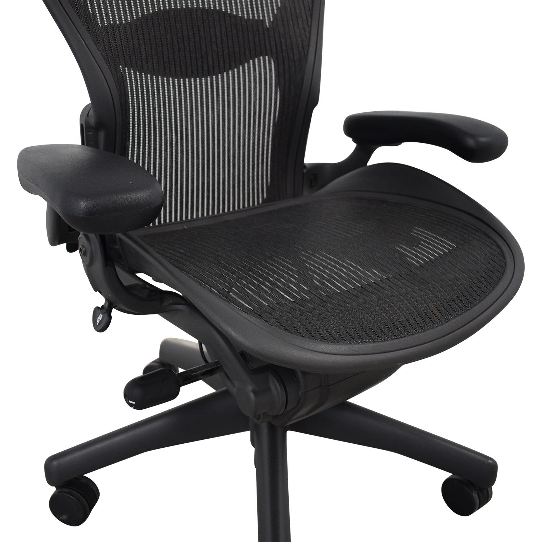 buy Herman Miller Aeron Chair Size B Herman Miller Chairs